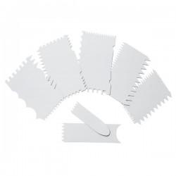 Juego de peines para decoración de Lacor 7 piezas