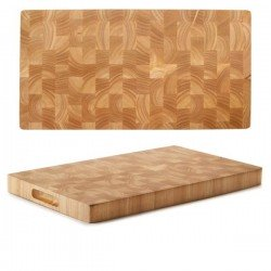 Tabla de corte madera y caucho de Lacor