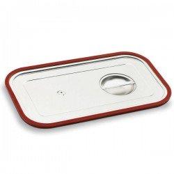 Tapa de acero y junta de silicona para cubetas Gastronorm