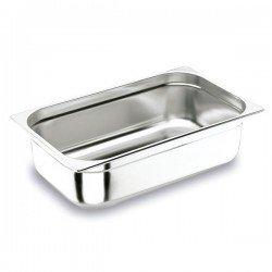 Cubeta Gastronorm 1/1 de acero inox Lacor
