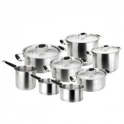 Batería de cocina Premium de Lacor 8 piezas