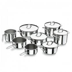Batería de cocina Gourmet de Lacor 8 piezas