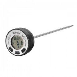 Termometro digital de cocina para alimentos con alarma 62487 lacor