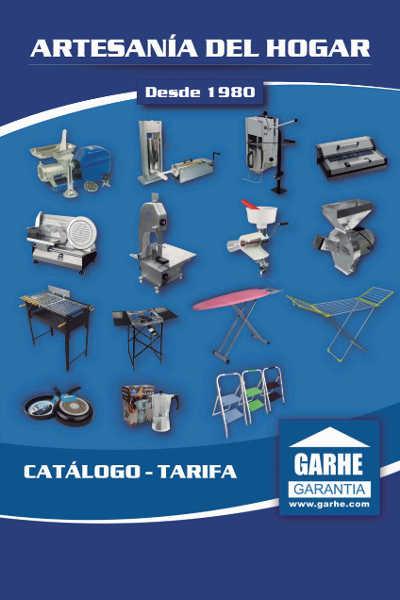 catálogo Garhe